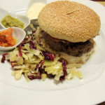 Chianina Burger with homemade sauces